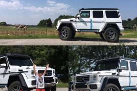 SOLD-Mercedes G-Class white
