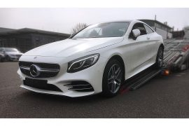 SOLD-Mercedes S450 white